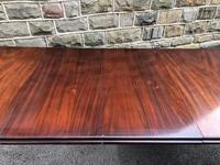 Antique Mahogany Wind Out Extending Dining Table (7 of 12)