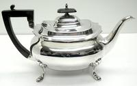 Impressive 5 Piece Silver Tea & Coffee Set Walker & Hall Sheffield 1917 (9 of 17)