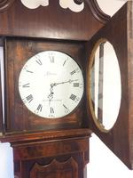 Fine English Longcase Clock Glover of Manchester 8-day Grandfather Clock Solid Oak Case (9 of 14)