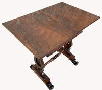 Lovely William IV Rosewood Card & Work Table (6 of 9)