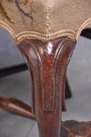Pair Of Early 18th Century Walnut Side Chairs (3 of 8)
