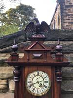 Antique Double Weight Vienna Wall Clock (7 of 9)