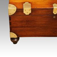 Victorian Mahogany Military Chest (7 of 14)