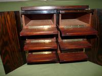 Rare Calamander Cabinet of Drawers. Very Versatile. c1880 (4 of 19)