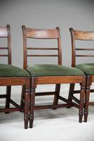 4 Antique Georgian Mahogany Dining Chairs (4 of 12)