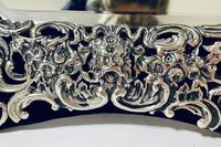 Large Victorian Silver Dressing Table Mirror (14 of 16)