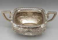Victorian Rococo Silver Plated Milk Jug & Sugar Bowl - 1897 (3 of 9)