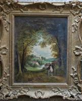 Fine Pair of English Landscapes - J J Hill (2 of 11)