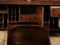 Good Oak Roll Top Desk by Maples London (9 of 12)