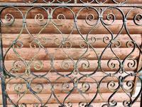 Antique Wrought Iron Garden Gate (3 of 5)