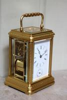 Bell Striking and Repeating and Alarm Gorge Case Carriage Clock (3 of 11)