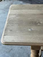 French Bleached Oak Refectory Farmhouse Dining Table (12 of 26)