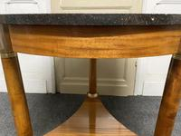 French Marble Top Empire Centre Table (8 of 16)