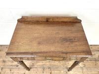 19th Century Antique Oak Side Table (3 of 10)