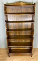 Large Waterfall Open Bookcase (2 of 4)
