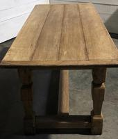Rustic French Oak Farmhouse Dining Table (14 of 26)