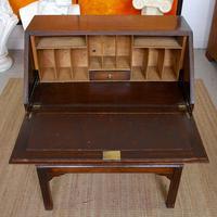 Oak Writing Bureau Edwardian (4 of 12)