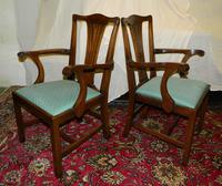 Set of 10 Mahogany Dining Chairs (4 of 8)