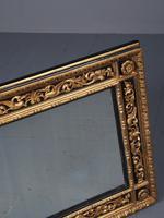 Antique Gilded & Ebonised Rectangular Wall Mirror (3 of 14)