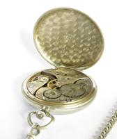 1930s Omega Pocket Watch with Chain (5 of 5)