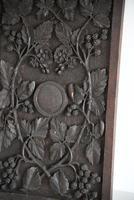 Carved Oak Panel Vines (9 of 9)