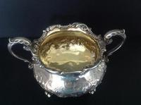 Paul Storr Antique Gilded Silver Sugar Bowl - 1835 (4 of 5)