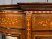 Maple & Co Inlaid Mahogany Display Cabinet (7 of 13)