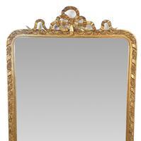 19th Century Gilt Framed Tall Hall or Pier Mirror (2 of 2)