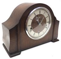 Very Good Arched Top Art Deco Mantel Clock – Musical Westminster Chiming 8-day Mantle Clock (4 of 8)