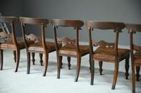 6 William IV Walnut Dining Chairs (2 of 9)