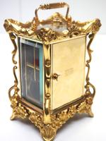 Extremely Rare 8-day Striking Carriage Repeat Feature Waterbury Clock Co c.1880 (6 of 14)