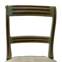 Pair of Regency Painted Side Chairs (4 of 7)