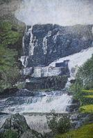 Large Waterfall Oil Painting (10 of 20)