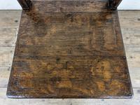 Set of Four 19th Century Oak Farmhouse Chairs (M-189) (9 of 17)