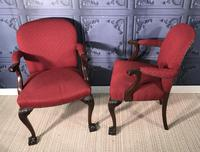 Pair of Mahogany Desk Chairs c.1920 (4 of 15)
