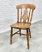 Set of 4 Windsor Lyreback Kitchen / Dining Chairs (2 of 6)