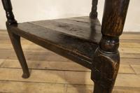 18th Century Oak Cricket Table (13 of 16)