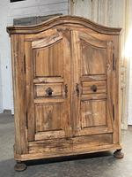 18th Century French Fruitwood Armoire (3 of 19)