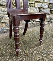 Antique Gothic Oak Hall Chair (10 of 13)