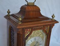 Leinzkirch Ting Tang Walnut Mantel Clock (6 of 7)