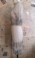 Vintage 1920's beadwork dress, Art Deco (9 of 20)