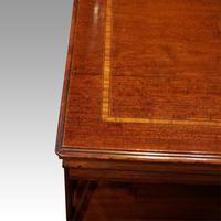 Edwardian Inlaid Revolving Bookcase (3 of 5)