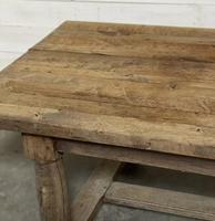 Rare Large & Deep Oak Farmhouse Dining Table (23 of 31)