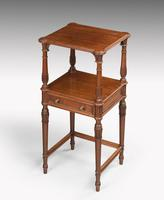 Late 19th Century Mahogany Night Stand or Lamp Table (4 of 5)