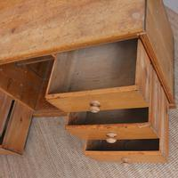 Pine Dresser Base Sideboard 19th Century Desk Country Victorian (4 of 8)