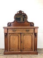 Victorian Mahogany Mirror Back Chiffonier Sideboard (7 of 13)