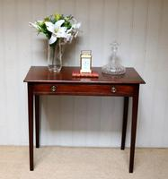 Early 19th Century Mahogany Side Table c.1820 (9 of 10)