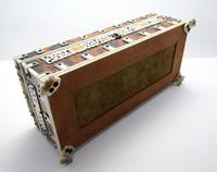 Quality Victorian Anglo Indian Antique Vizagapatam Trinket Jewellery Box Casket, 19th Century India (7 of 11)