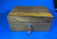 Victorian Walnut Jewellery Box (7 of 13)