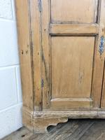 Antique Pine Free Standing Corner Cupboard (7 of 10)
